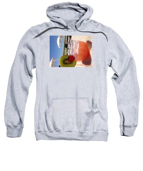 Cocktail Sweatshirt by Brooke Hooker