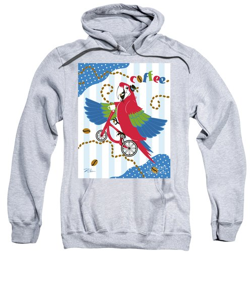 Coffee Parrot Sweatshirt