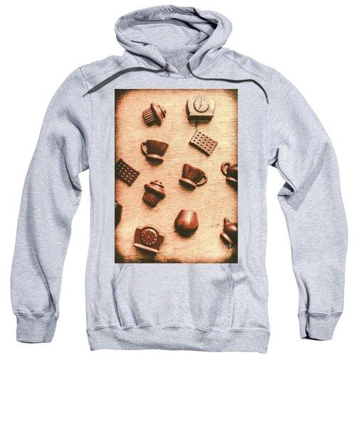 Coffee Shop Iconography  Sweatshirt