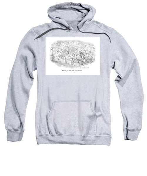 Coffin Cubicles  Sweatshirt