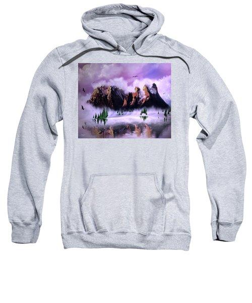 Cold Mountain Morning Sweatshirt