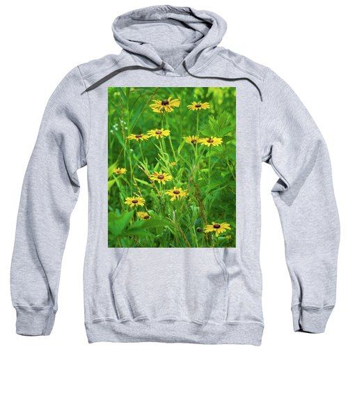 Sweatshirt featuring the photograph Collection In The Clearing by Bill Pevlor