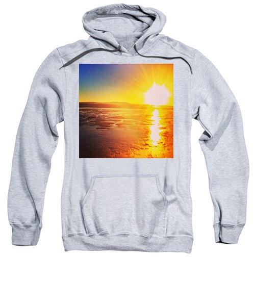 College Sunset Sweatshirt