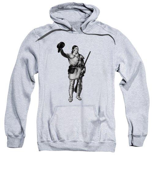 Colonel Davy Crockett Sweatshirt by War Is Hell Store