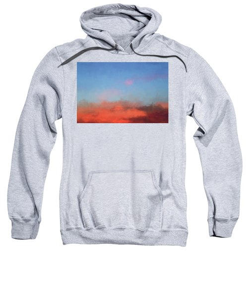 Color Abstraction Xlvii - Sunset Sweatshirt