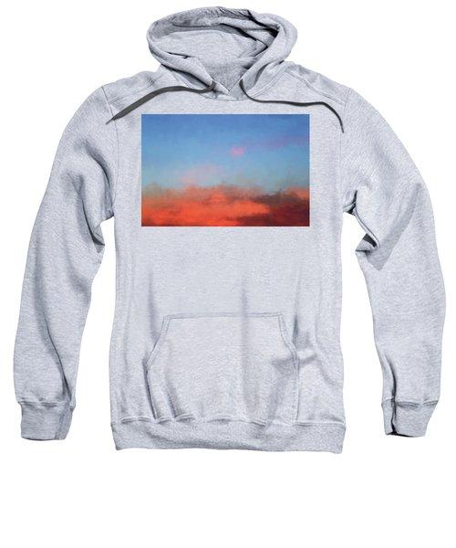 Color Abstraction Xlvii - Sunset Sweatshirt