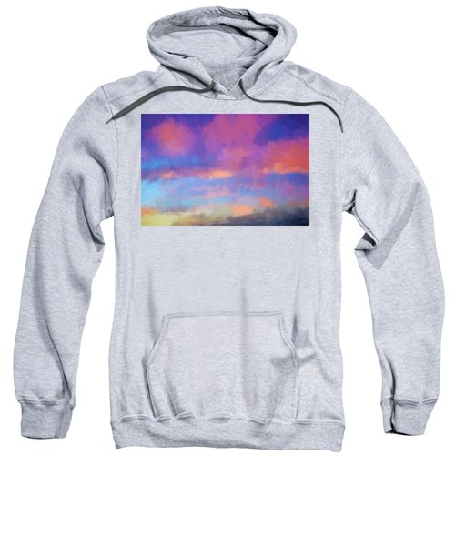 Color Abstraction Xlviii - Sunset Sweatshirt