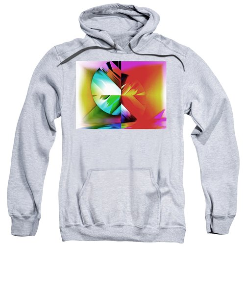 Color Of The Fractal Sweatshirt