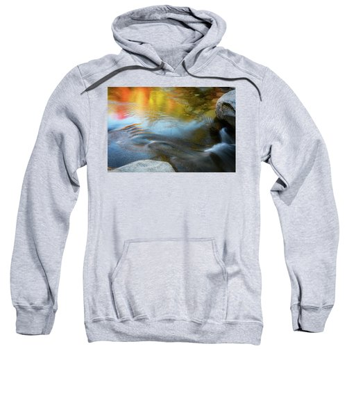 Color On The Swift River Nh Sweatshirt