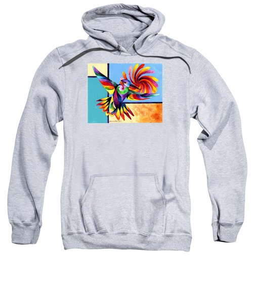 Color Spinner Sweatshirt
