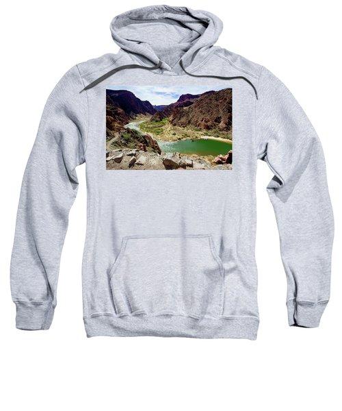 Colorado River Around Boat Beach Sweatshirt