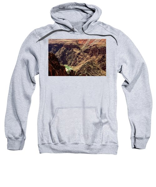 Colorado River From The South Kaibab Trail Sweatshirt