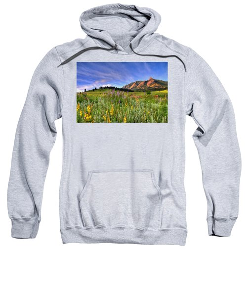 Colorado Wildflowers Sweatshirt