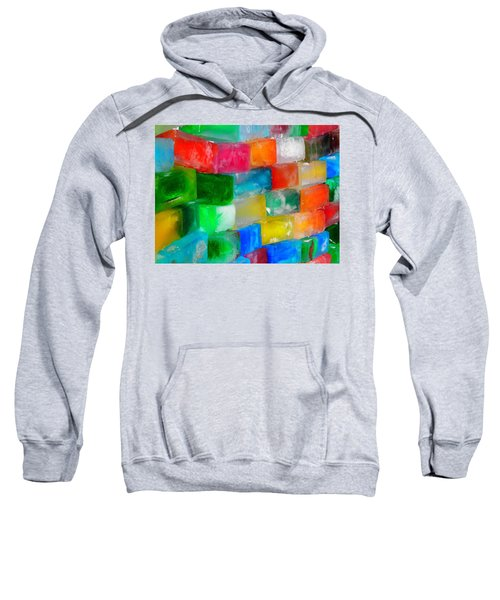 Colored Ice Bricks Sweatshirt