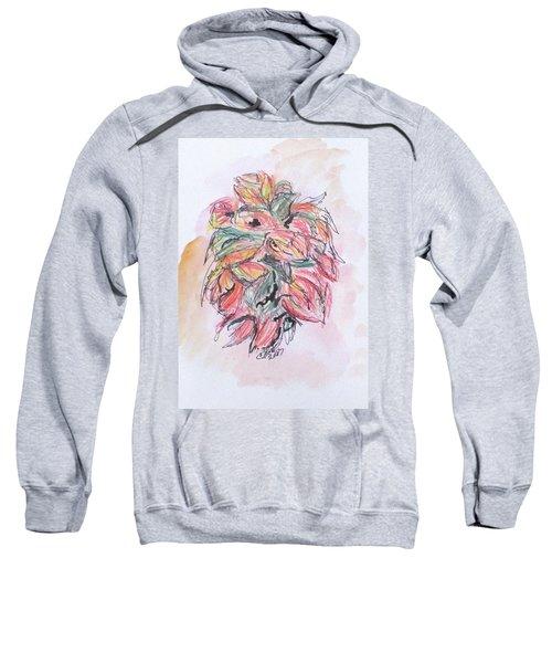 Colored Pencil Flowers Sweatshirt