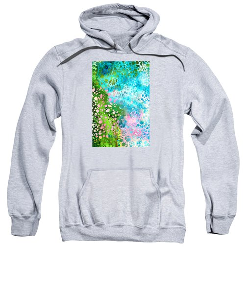 Colorful Art - Enchanting Spring - Sharon Cummings Sweatshirt