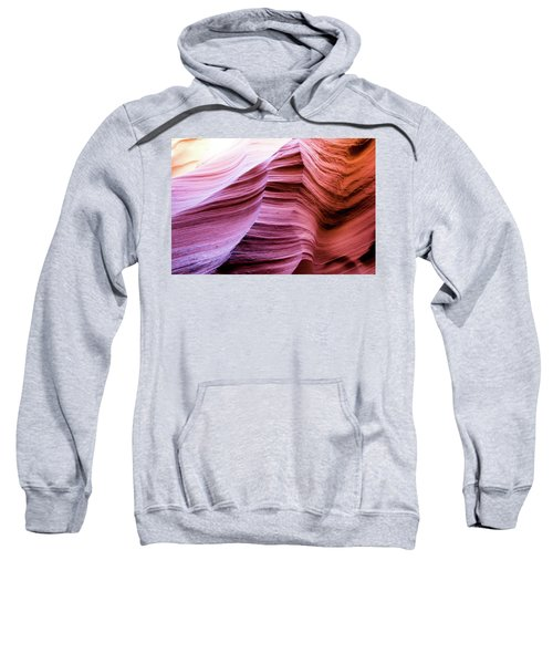 Sweatshirt featuring the photograph Colorful Canyon by Stephen Holst