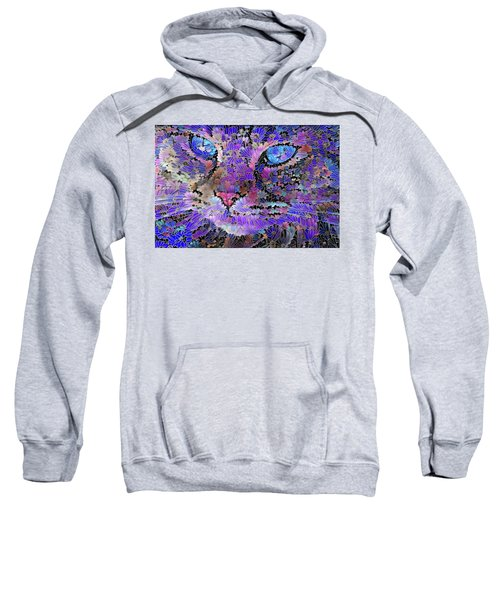 Flower Cat 2 Sweatshirt