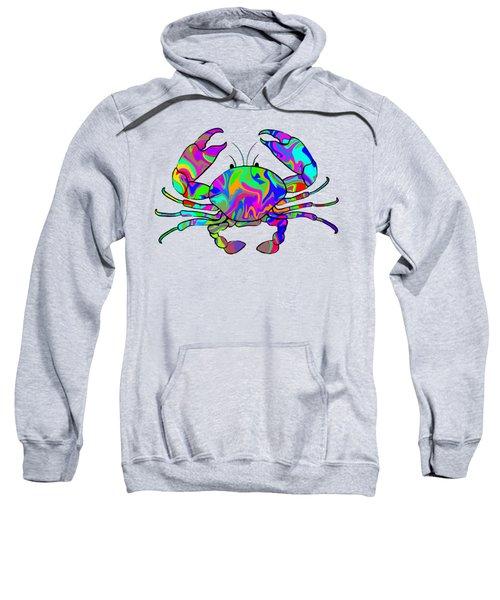 Colorful Crab Sweatshirt