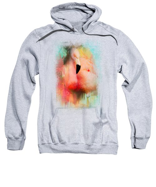 Colorful Expressions Flamingo Sweatshirt