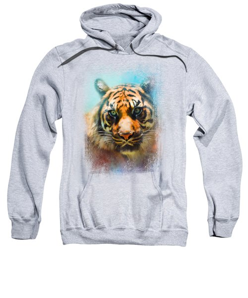 Colorful Expressions Tiger 2 Sweatshirt by Jai Johnson