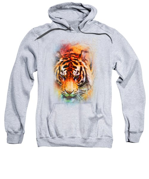 Colorful Expressions Tiger Sweatshirt