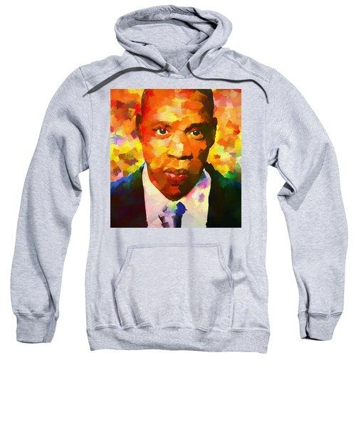 Colorful Jay Z Palette Knife Sweatshirt