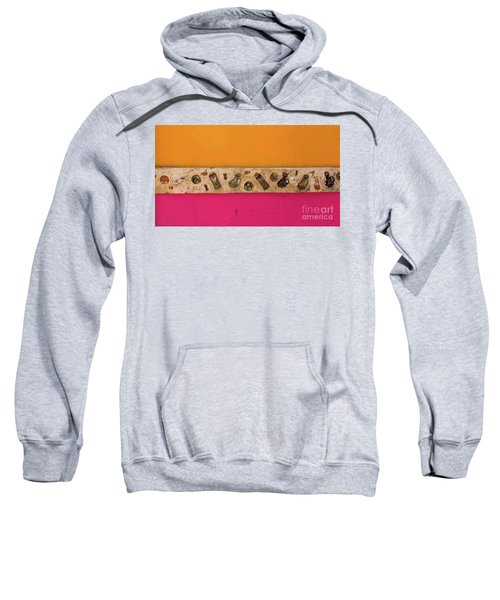 Colorful Mexico  Mexican Art By Kaylyn Franks Sweatshirt