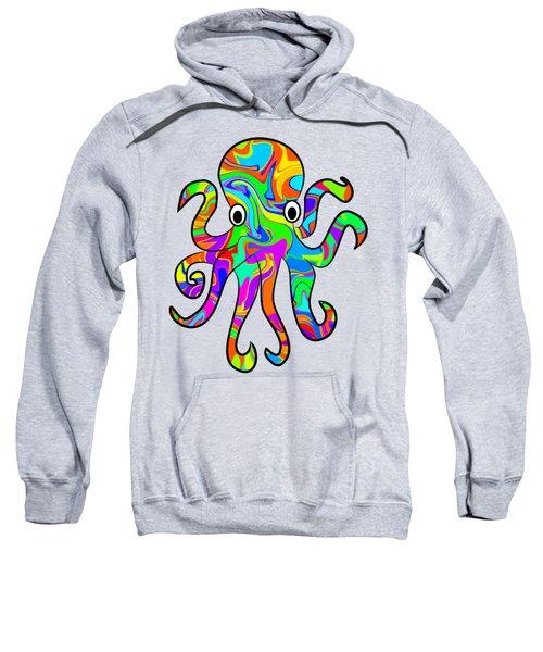 Colorful Octopus Sweatshirt