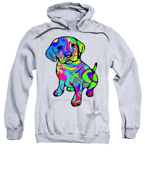 Colorful Puppy Sweatshirt