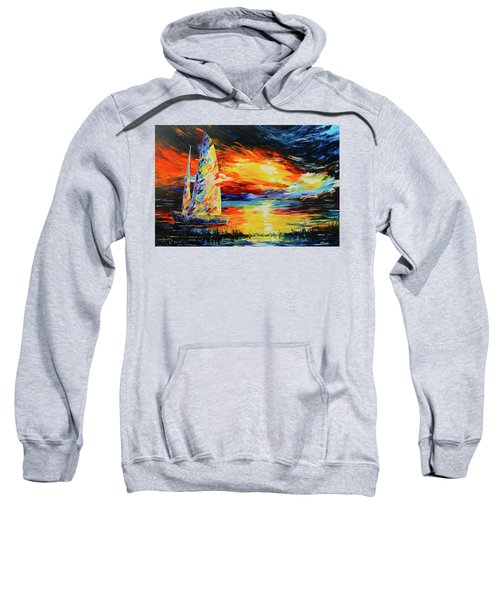 Colorful Sail Sweatshirt