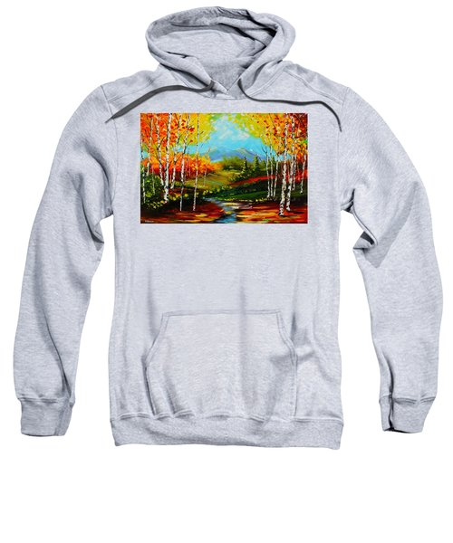 Colorful Spring Sweatshirt