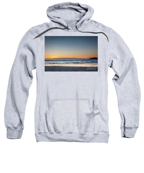 Colorful Sunset Over A Desserted Beach Sweatshirt
