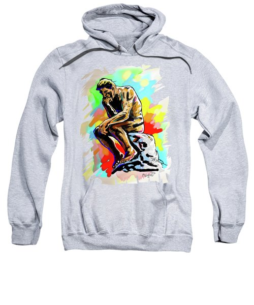 Colorful Thinker Sweatshirt