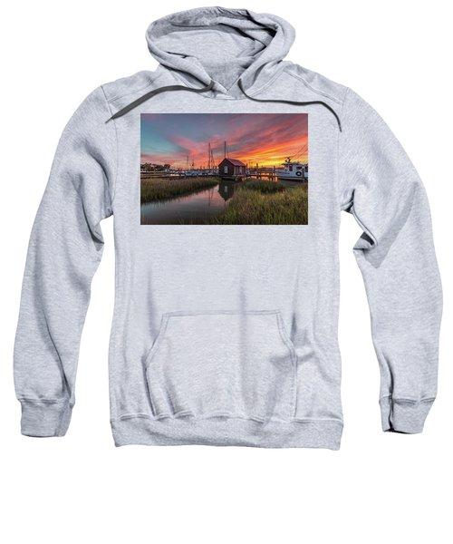 Colors Of Shem Creek - Mt. Pleasant Sc Sweatshirt