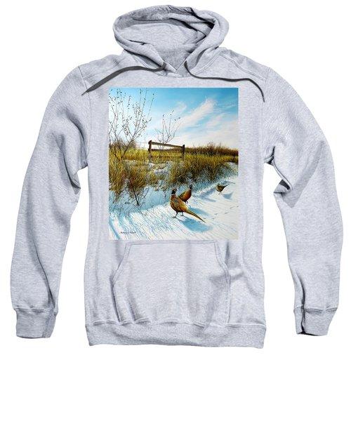 Colors Of Winter - Pheasants Sweatshirt