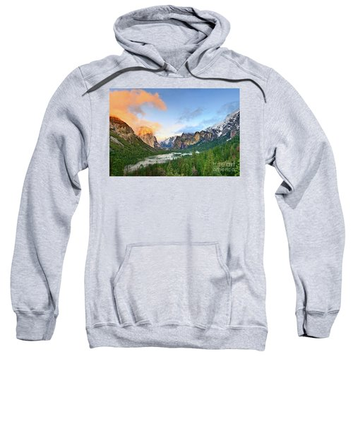 Colors Of Yosemite Sweatshirt