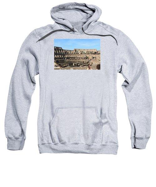 Colosseum Inside Sweatshirt by Kaitlin McQueen