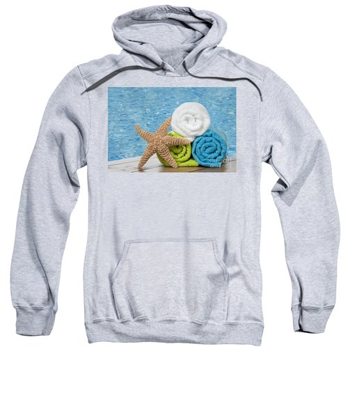 Colourful Towels Sweatshirt