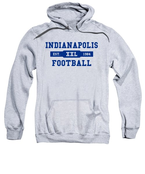 Colts Retro Shirt Sweatshirt by Joe Hamilton