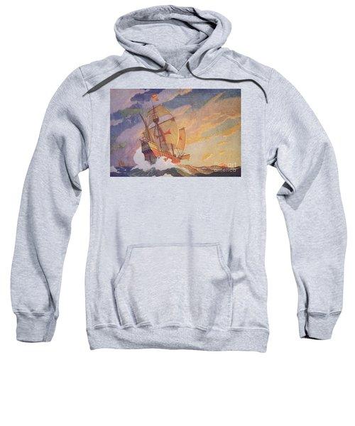 Columbus Crossing The Atlantic Sweatshirt