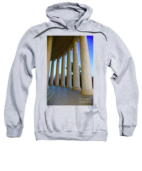 Columns At Jefferson Sweatshirt