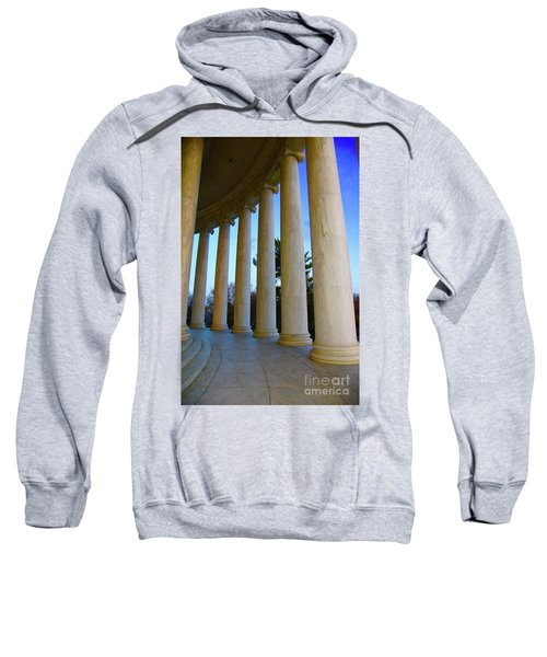 Columns At Jefferson Sweatshirt