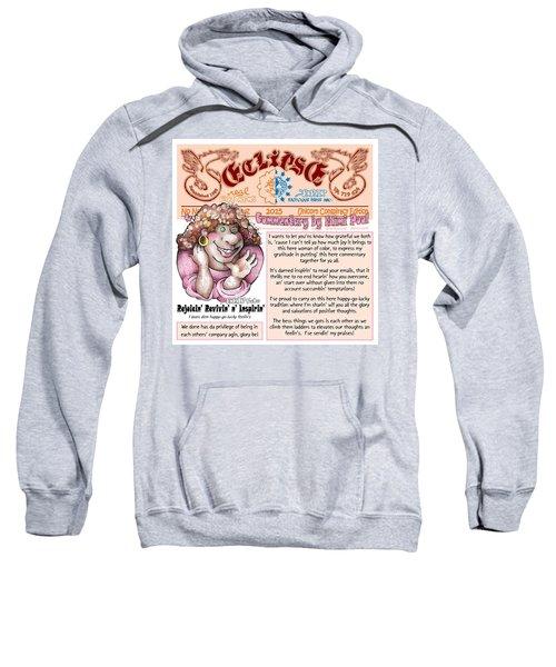 Real Fake News Lnspirational Column 2 Sweatshirt