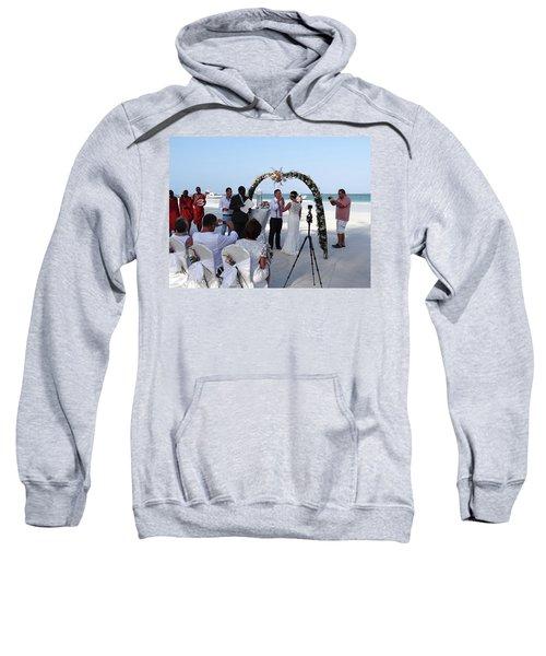 Commitment On The Beach In Kenya Sweatshirt