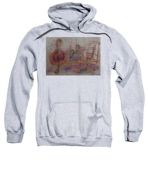 Composition In B Flat Sweatshirt