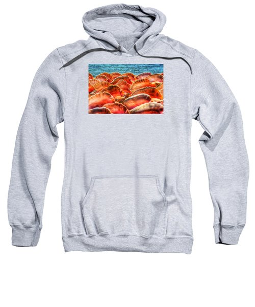 Conch Parade Sweatshirt by Jeremy Lavender Photography