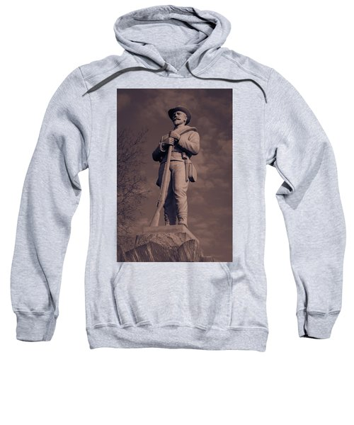 Confederate Statue  Standing Guard Sweatshirt