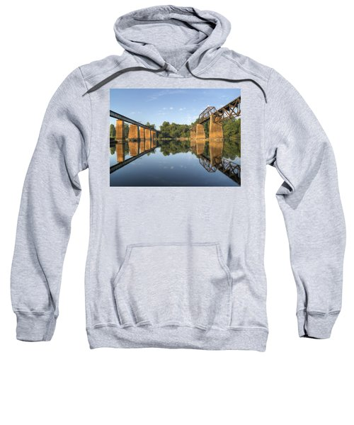 Congaree River Rr Trestles - 1 Sweatshirt