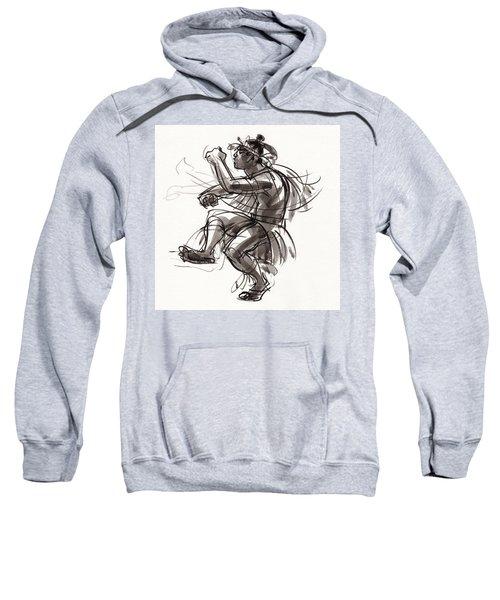 Cook Islands Male Dancer Sweatshirt